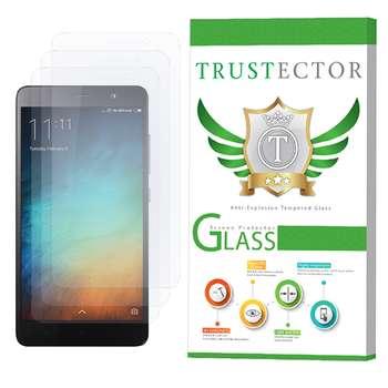 محافظ صفحه نمایش تراستکتور مدل GLS مناسب برای گوشی موبایل شیائومی Redmi Note 3 Pro / Redmi Note 3 بسته 3 عددی