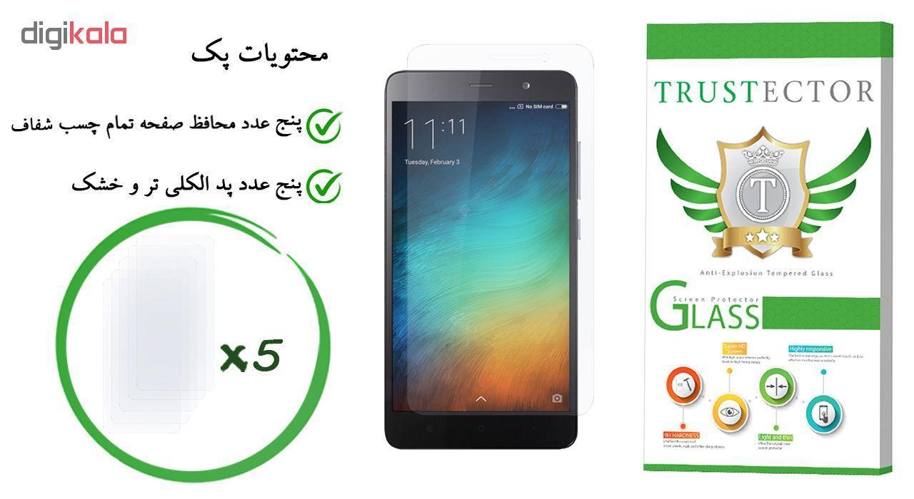 محافظ صفحه نمایش تراستکتور مدل GLS مناسب برای گوشی موبایل شیائومی Redmi Note 3 Pro / Redmi Note 3 بسته 5 عددی main 1 1