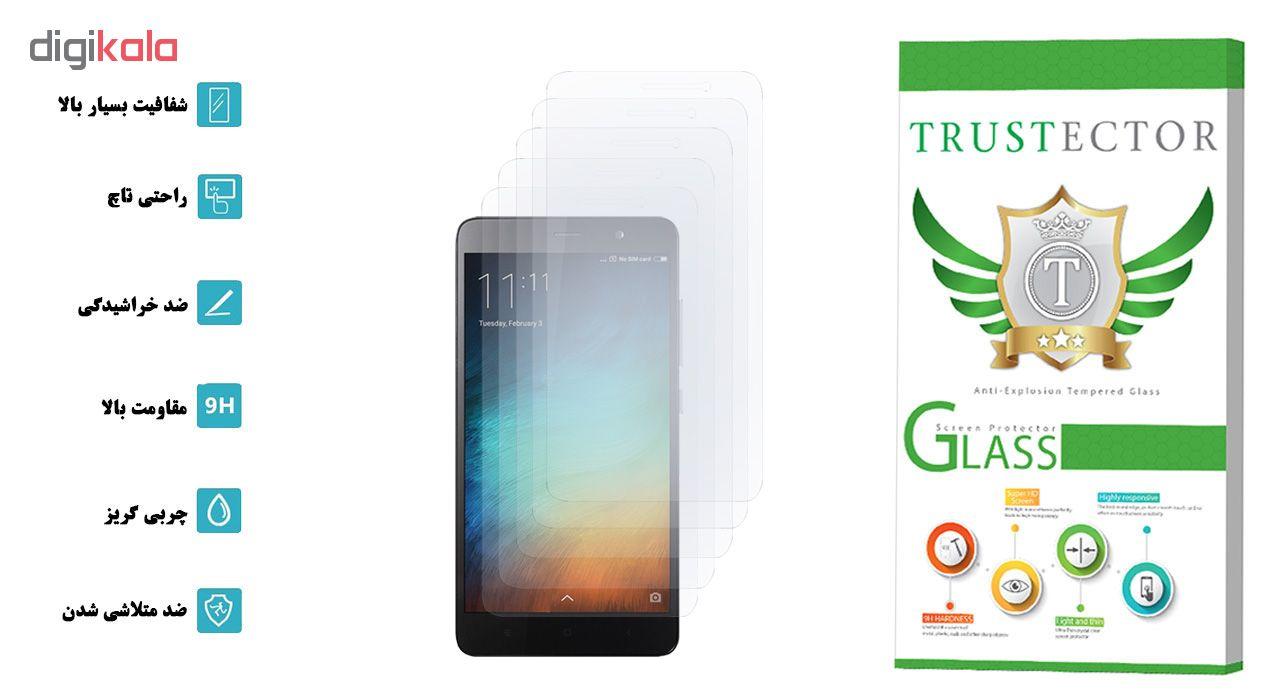 محافظ صفحه نمایش تراستکتور مدل GLS مناسب برای گوشی موبایل شیائومی Redmi Note 3 Pro / Redmi Note 3 بسته 5 عددی main 1 2