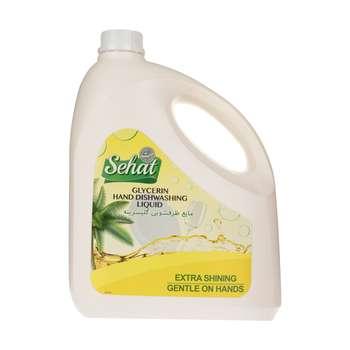 مایع ظرفشویی گلیسیرینه صحت مدل Yellow حجم 4 لیتر