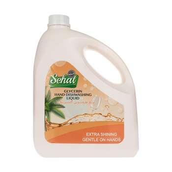 مایع ظرفشویی صحت مدل Orange حجم 4 لیتر