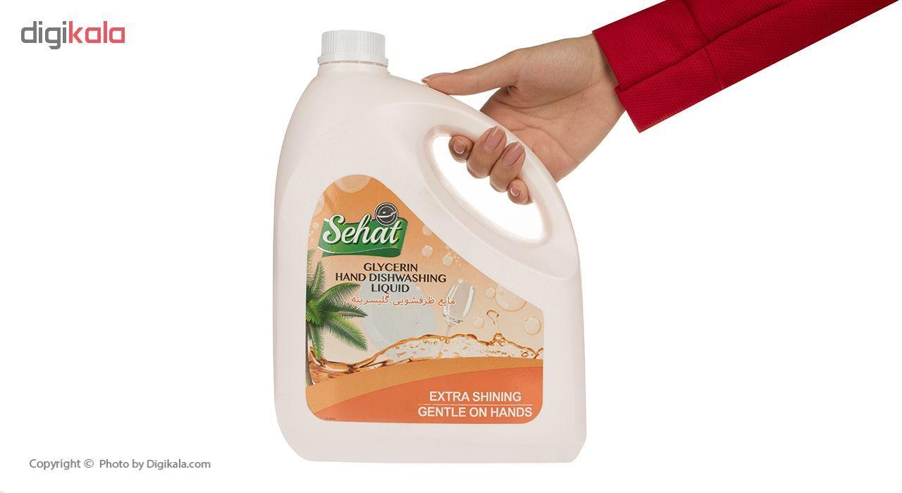 مایع ظرفشویی صحت مدل Orange حجم 4 لیتر main 1 4