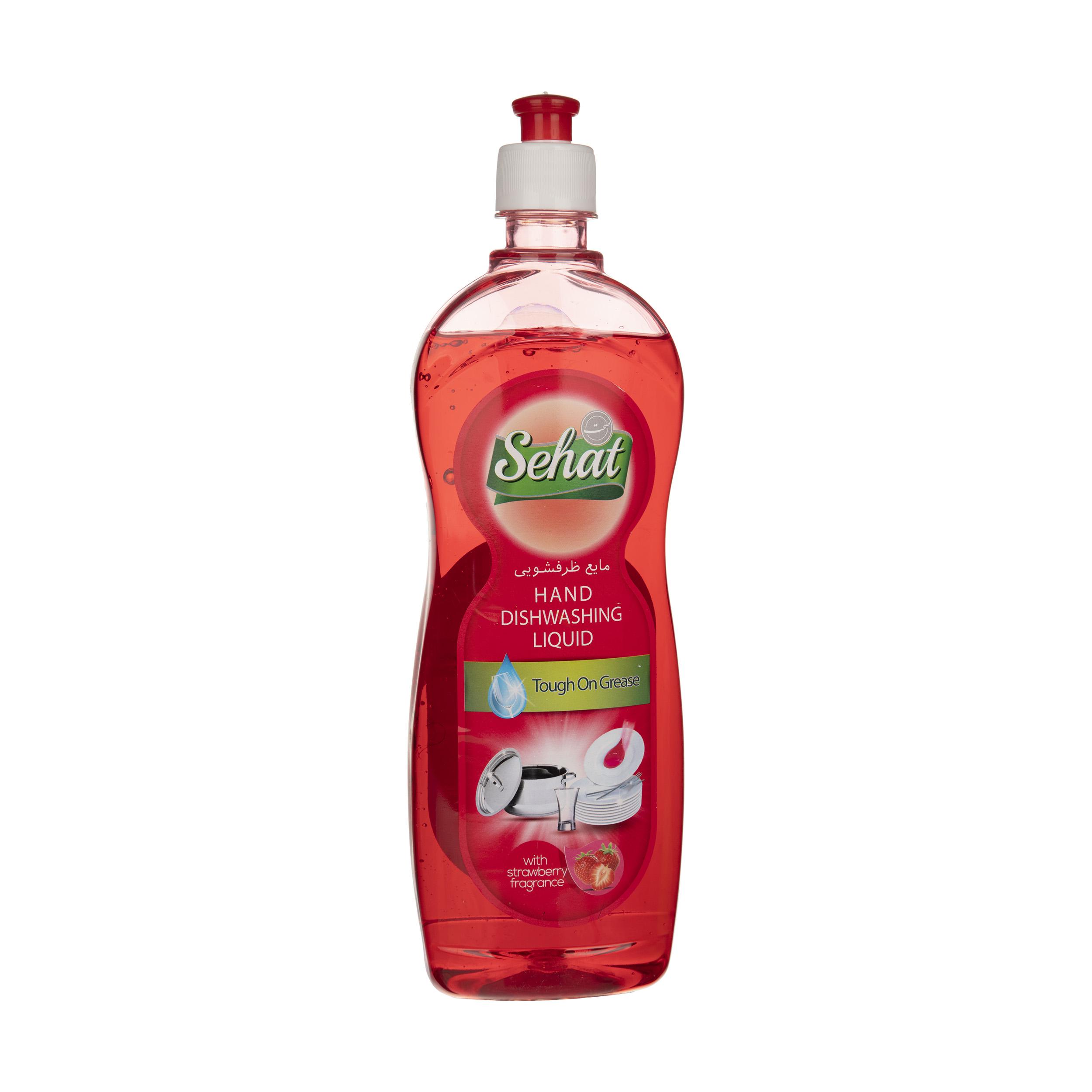 مایع ظرفشویی صحت مدل Strawberry مقدار 750 گرم