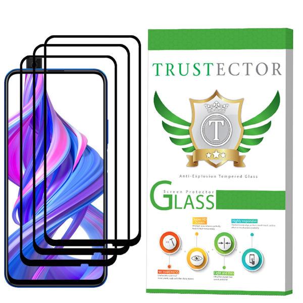 محافظ صفحه نمایش تراستکتور مدل GSS مناسب برای گوشی موبایل آنر 9X بسته 3 عددی
