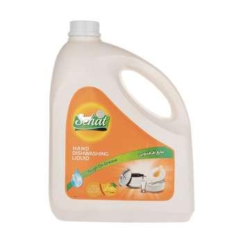 مایع ظرفشویی صحت مدل پرتقالی مقدار 4000 گرم