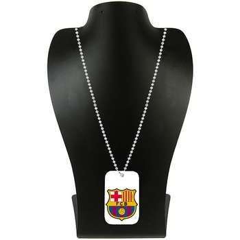 گردنبند طرح تیم فوتبال بارسلونا کد pf46