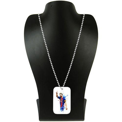 گردنبند طرح لیونل مسی کد pf47