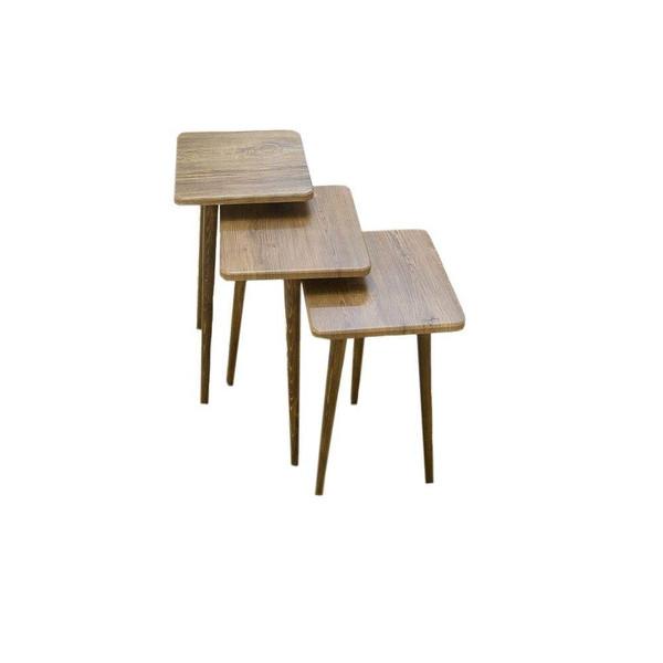 میز عسلی مدل MA9901 مجموعه 3 عددی