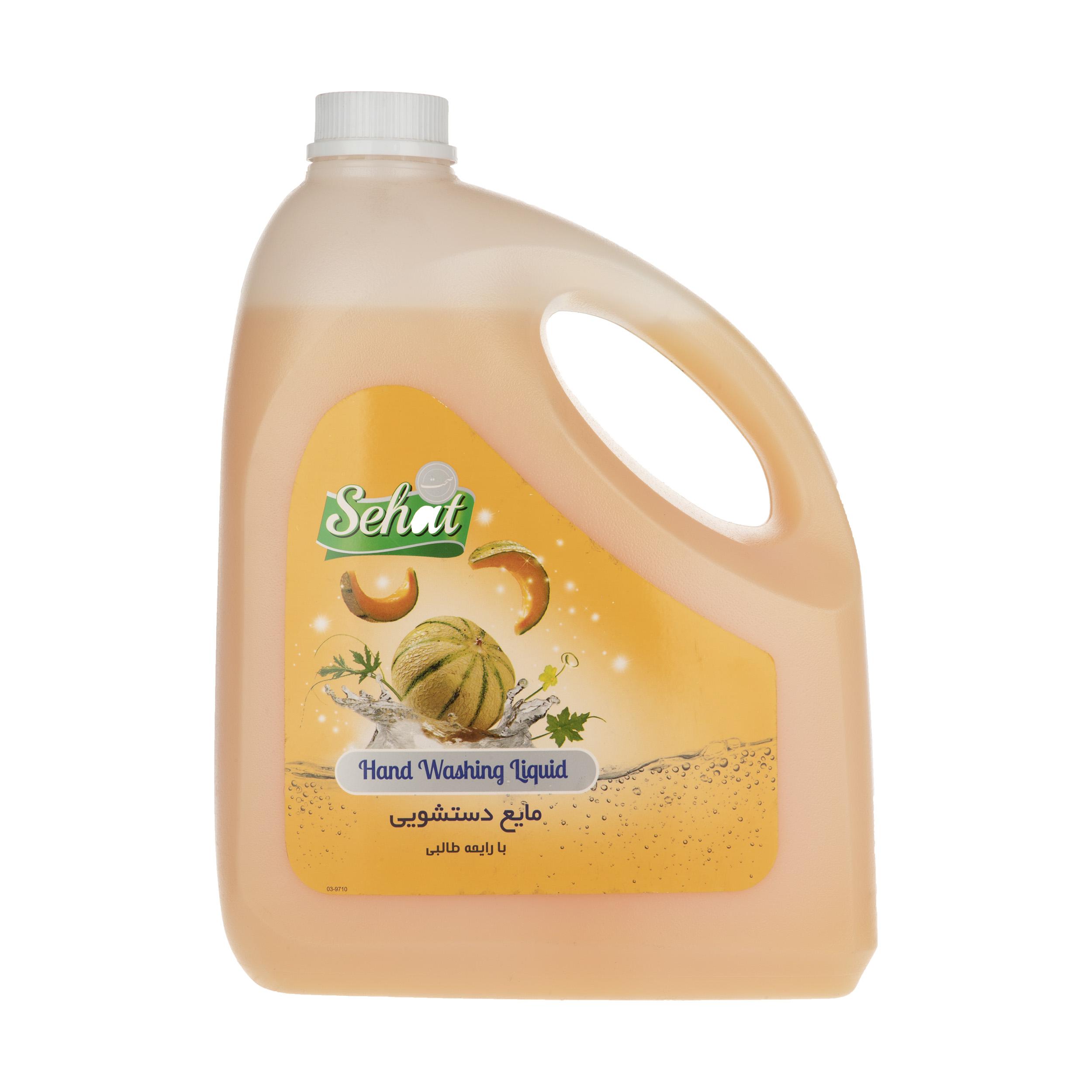 مایع دستشویی صدفی صحت مدل Melon مقدار 4000 گرم
