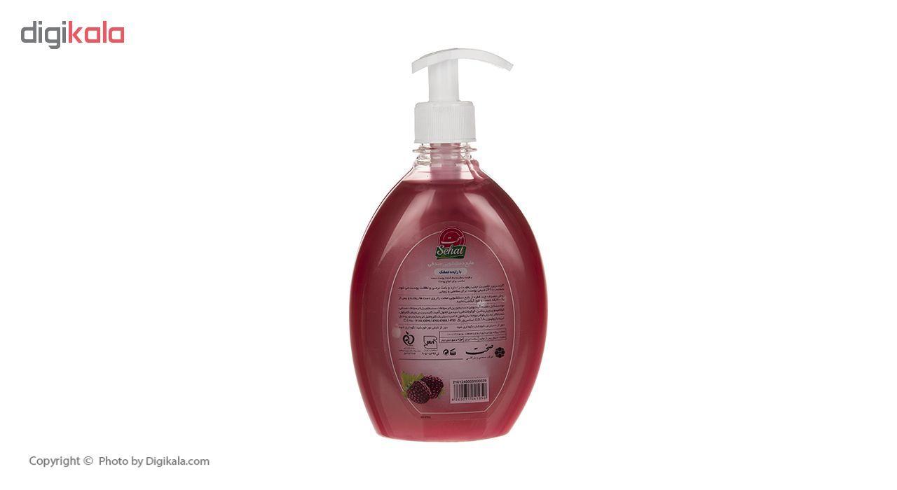 مایع دستشویی صدفی صحت مدل Raspberry مقدار 500 گرم main 1 2