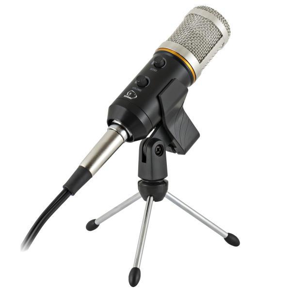 خرید میکروفون کامپیوتر میکروفون کاندنسر کینباس مدل BM700E