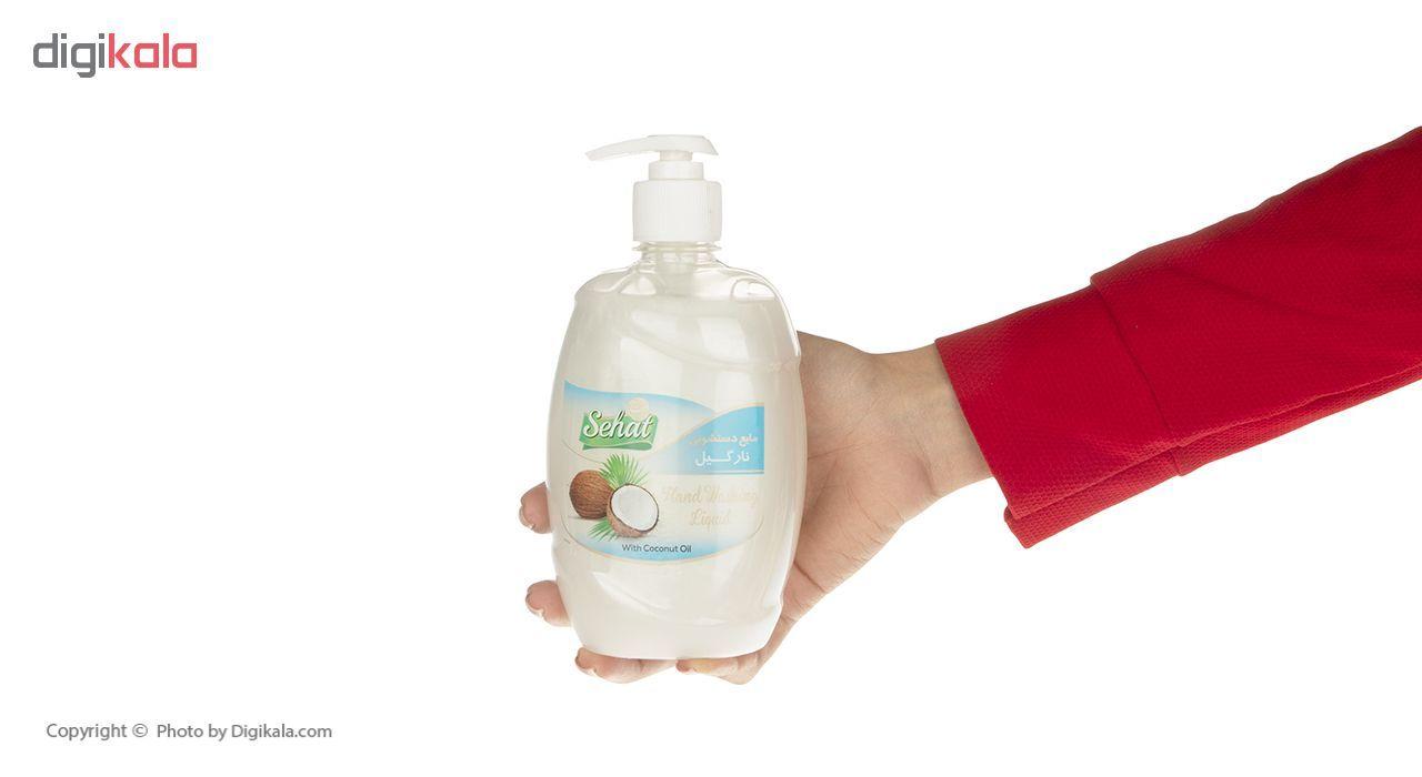 مایع دستشویی صحت مدل Coconut مقدار 500 گرم main 1 4