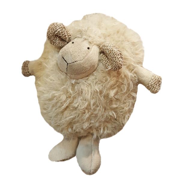 عروسک بارنی طرح گوسفند ارتفاع ۳۰ سانتی متر