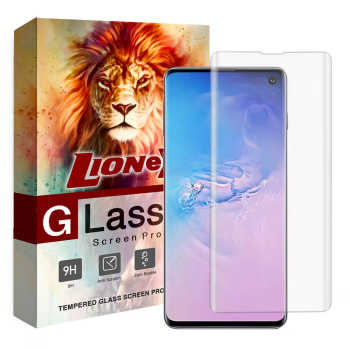محافظ صفحه نمایش یووی لایت لایونکس مدل LSP مناسب برای گوشی موبایل سامسونگ Galaxy S10
