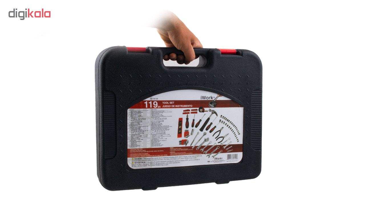 مجموعه 119 عددی ابزار آیورک مدل IW119-BMC main 1 23