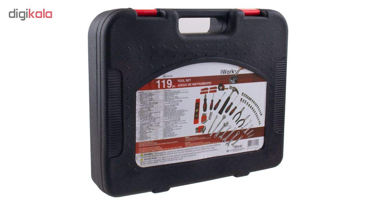مجموعه 119 عددی ابزار آیورک مدل IW119-BMC main 1 24