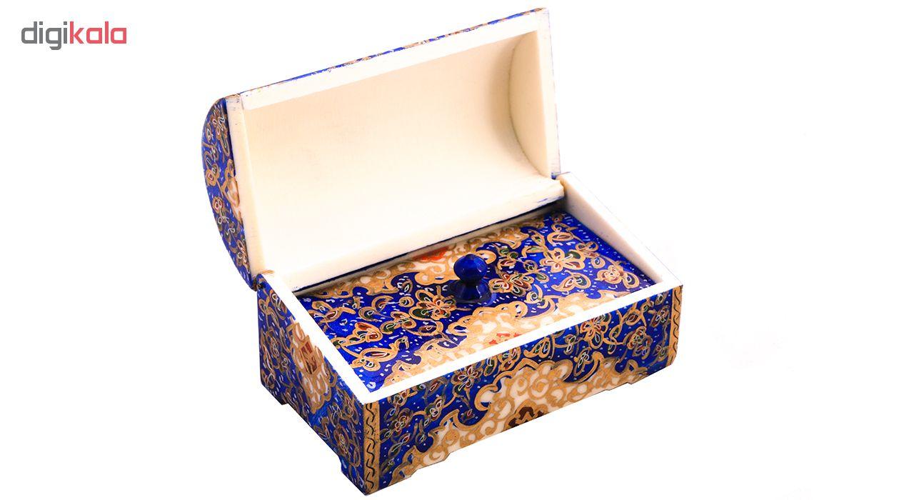 خرید                      جعبه جواهرات استخوانی کد 1105