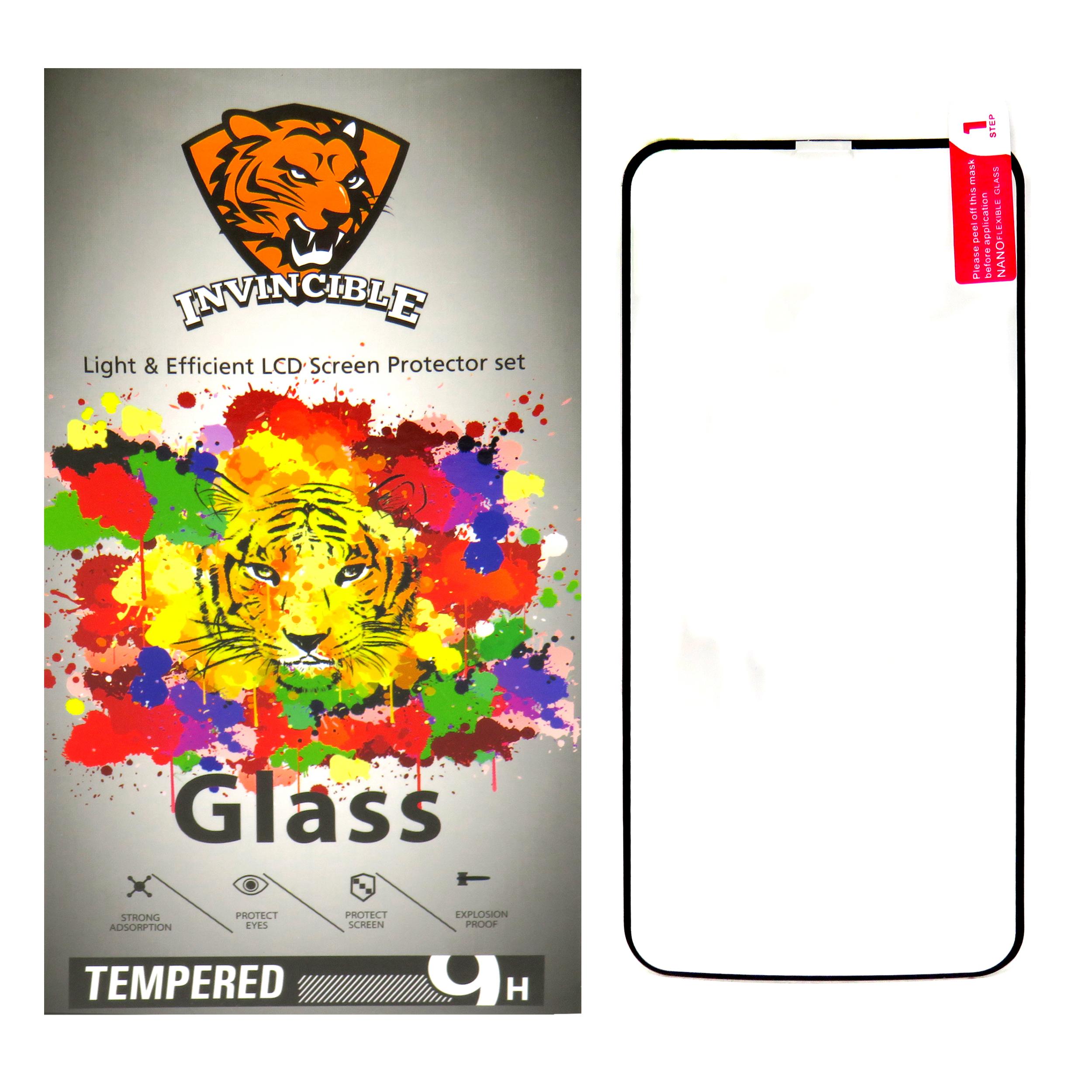 محافظ صفحه نمایش  اینویسیبل مدل  09-Tiger مناسب برای گوشی موبایل هوآوی Y9 2019