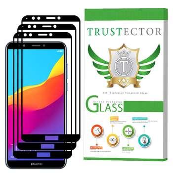 محافظ صفحه نمایش تراستکتور مدل GSS مناسب برای گوشی موبایل هوآوی Y7 Pro 2018 بسته 3 عددی