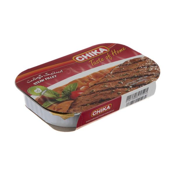 استیک گوشت چیکا مقدار 250 گرم