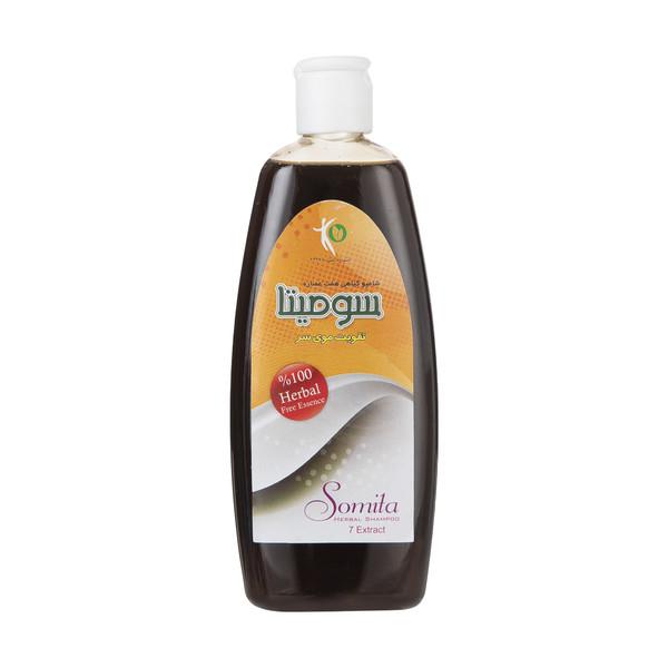 شامپو تقویت کننده مو سومیتا مدل Herbal حجم 300 میلی لیتر