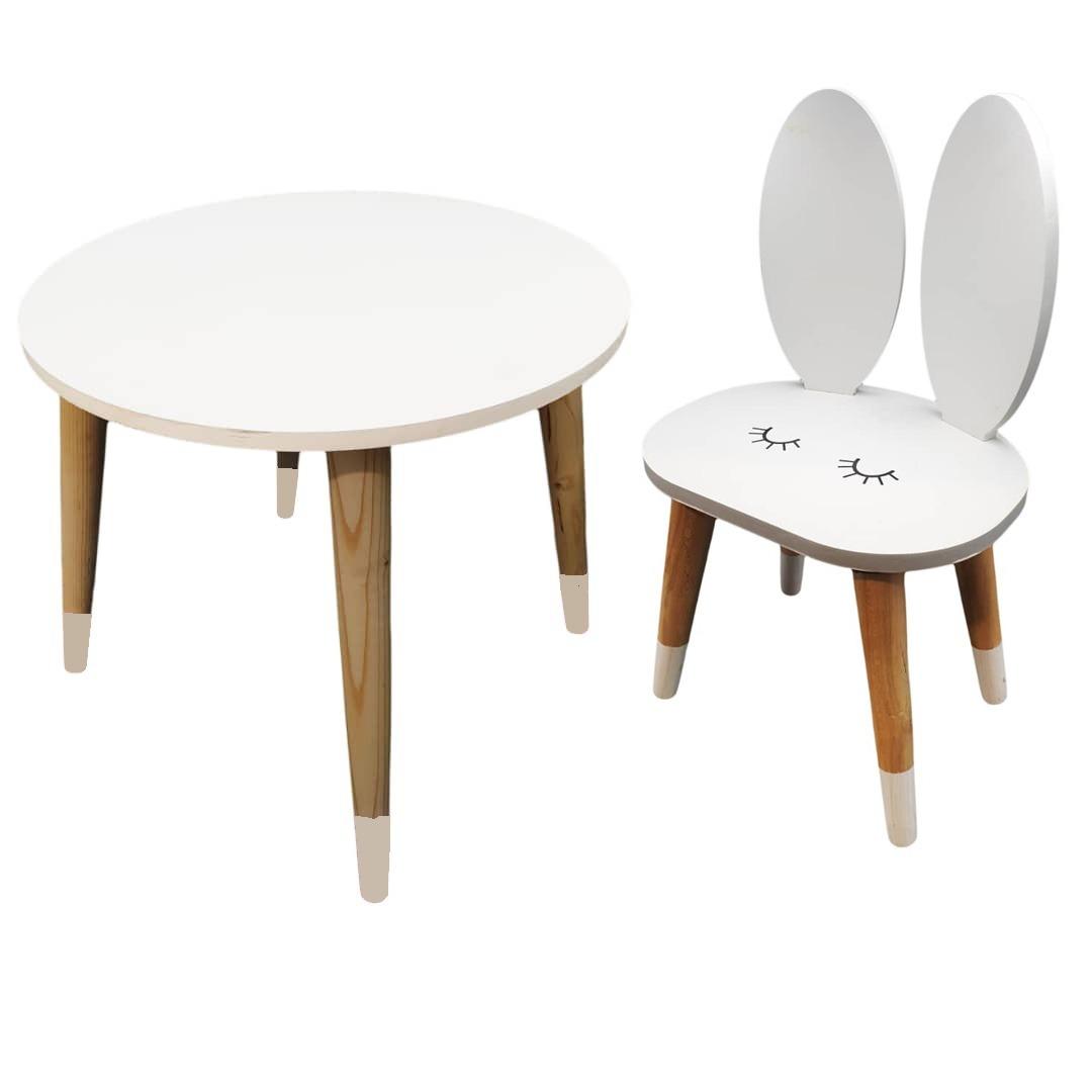 ست صندلی و میز کودک مدل Rabbit