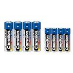 باتری قلمی و نیم قلمی کملیون مدل Super مجموعه 8 عددی