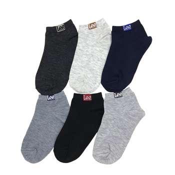 جوراب مردانه کد LD-13 مجموعه 6 عددی