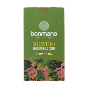 قهوه گلد برزیلی 1× 3 بن مانو بسته 20 عددی