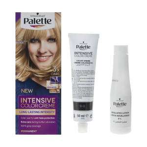 کیت رنگ مو پلت سری Intensive Colour Cream مدل Extra Light Blond شماره 0-9