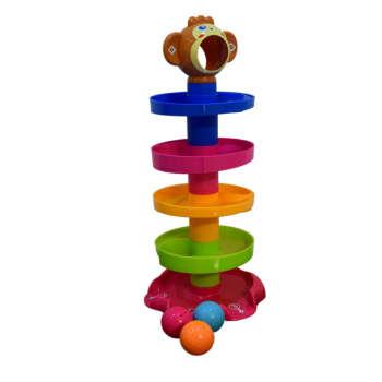 بازی آموزشی طرح توپ و رول مدل میمون