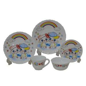 سرویس غذا خوری کودک 5 تکه کودک مدل CT01