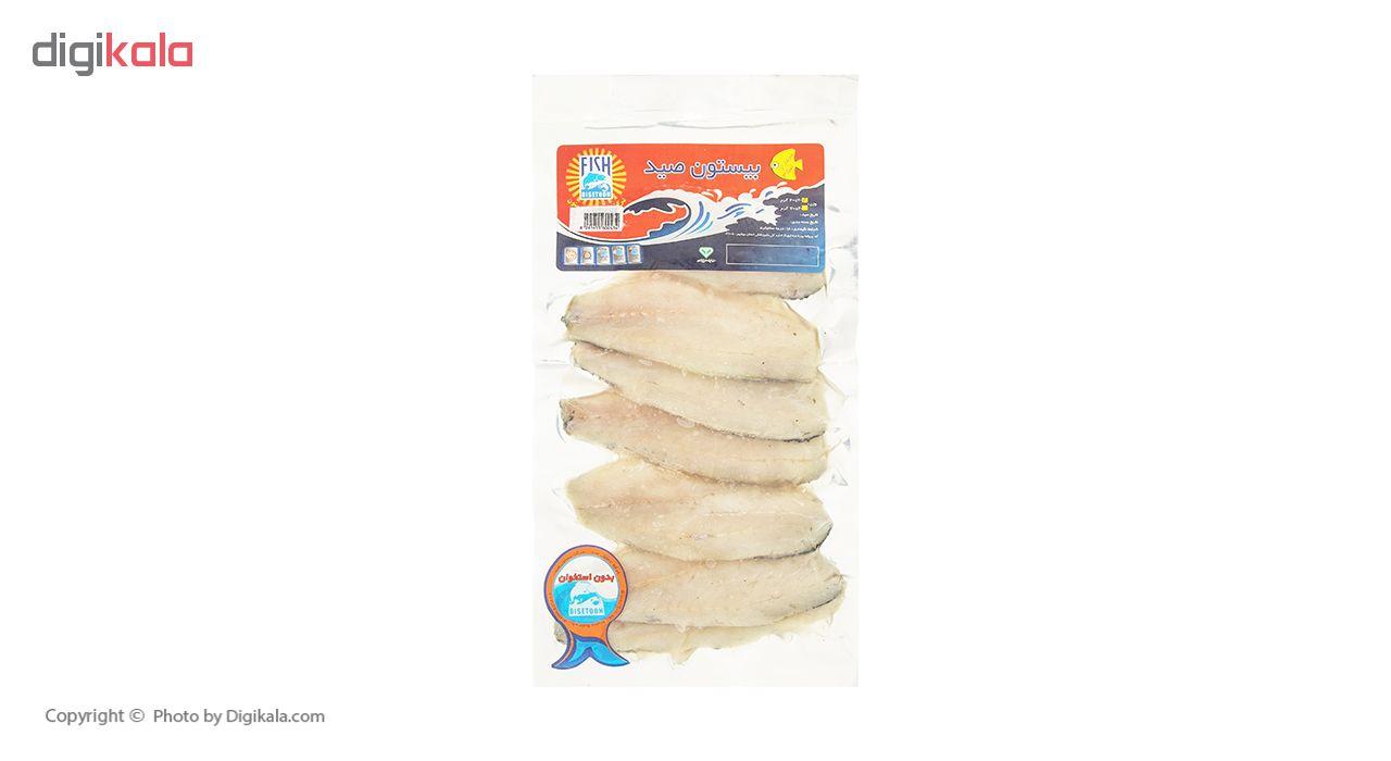 فیله ماهی سیباس بیستون وزن 600 گرم