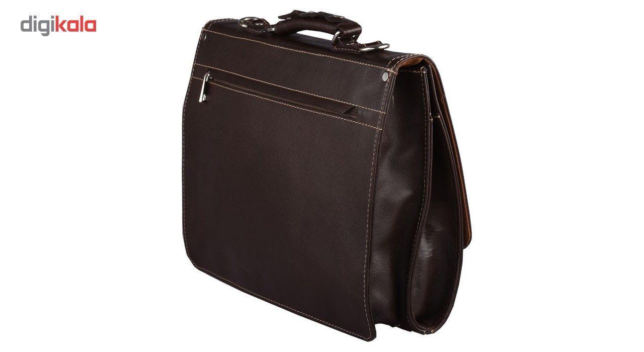 کیف اداری کهن چرم مدل L73-15 main 1 2