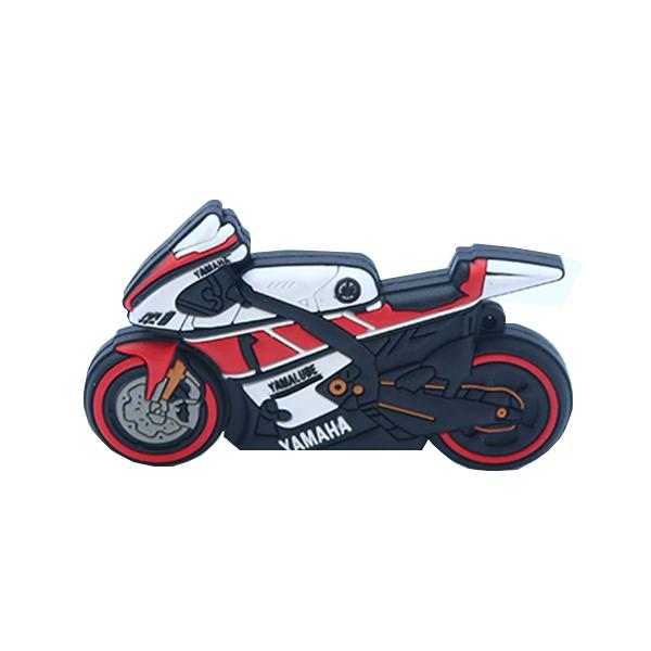 بررسی و {خرید با تخفیف}                                     فلش مموری طرح موتور سیکلت مدل Ul-Pv-YAmah01 ظرفیت 16 گیگابایت                             اصل