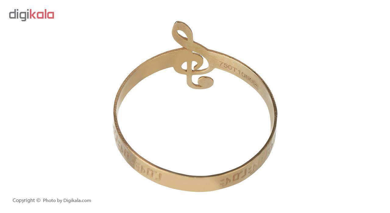 انگشتر طلا 18 عیار زنانه کد am10 thumb 2 2