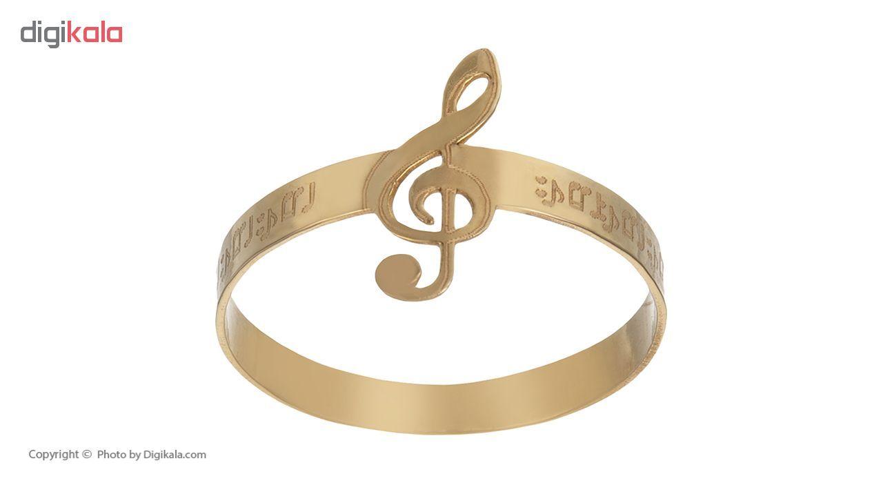 انگشتر طلا 18 عیار زنانه کد am10 thumb 2 3