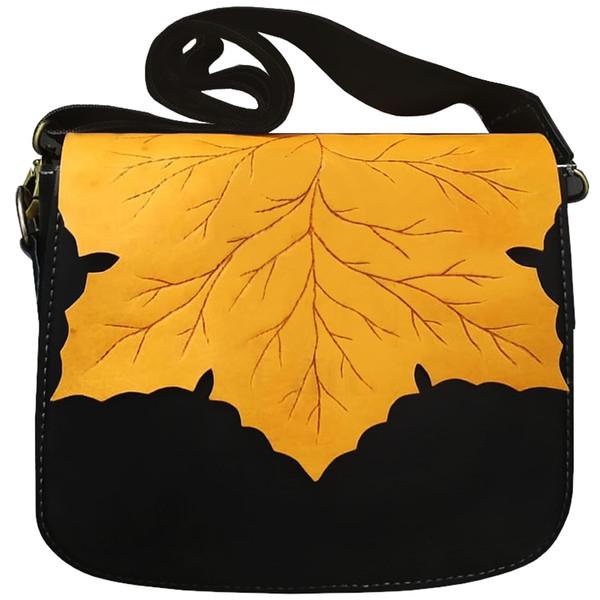 کیف رو دوشی چرمی مدل Fal01
