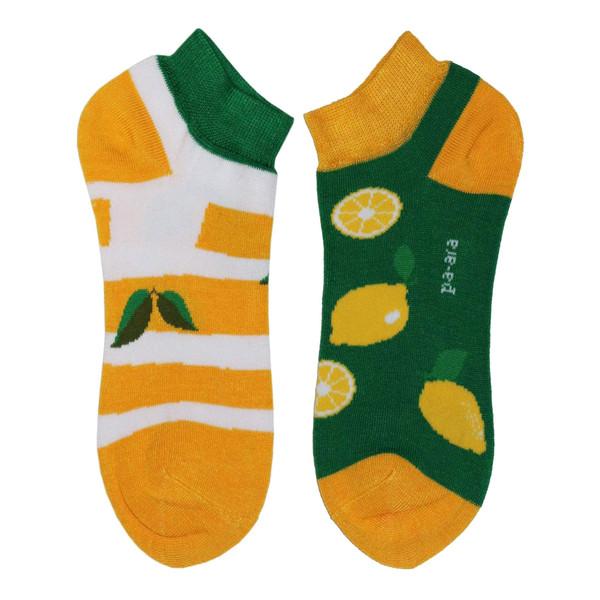 جوراب زنانه پاآرا طرح لیمو کد P1
