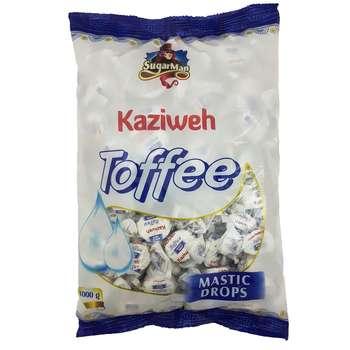 تافی با طعم سقز کازیوه مقدار 1 کیلو گرم