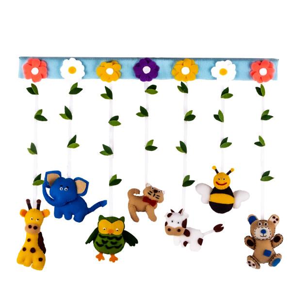 آویز اتاق کودک مدل Zoo 001
