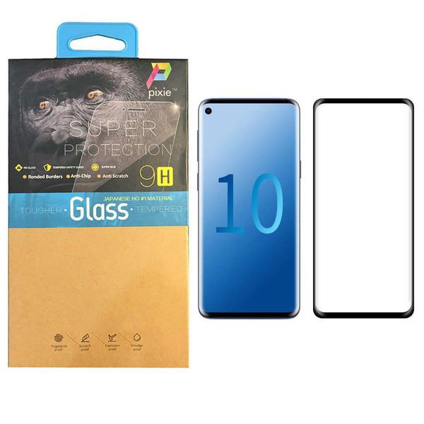 محافظ صفحه نمایش 3D پیکسی مدل P10 مناسب برای گوشی موبایل سامسونگ Galaxy S10 plus
