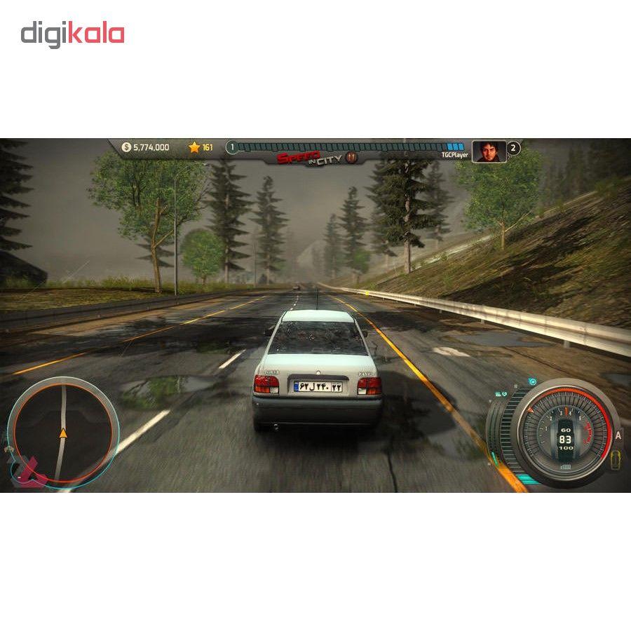 بازی شتاب در شهر 2 مخصوص PC