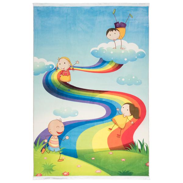 فرش ماشینی محتشم طرح کودک کد 100247