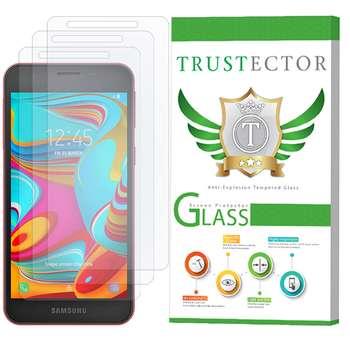 محافظ صفحه نمایش تراستکتور مدل GLS مناسب برای گوشی موبایل سامسونگ Galaxy A2 Core بسته 3 عددی