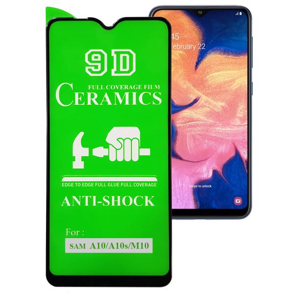 محافظ صفحه نمایش 9D مدل CR-A105 مناسب برای گوشی موبایل سامسونگ  Galaxy A10 / A10s / M10