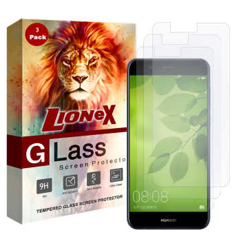محافظ صفحه نمایش لایونکس مدل UPS مناسب برای گوشی موبایل هواوی nova 2 plus بسته سه عددی
