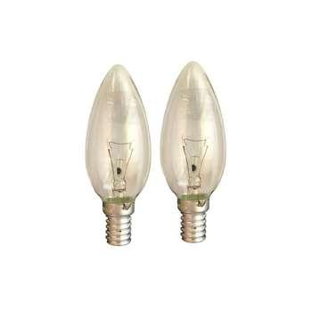 لامپ رشته ای 60 وات نارون مدل Lian پایه E14 بسته 2 عددی