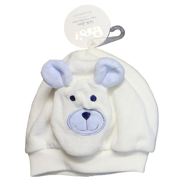 کلاه نوزادی پاپو طرح خرس کد B3-S