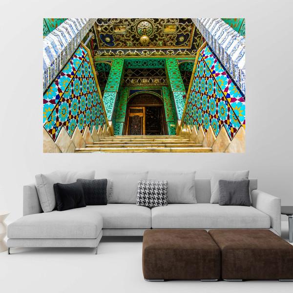 تابلو شاسی طرح کاخ گلستان کد 0154